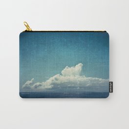 cloud over island Carry-All Pouch