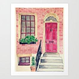 London watercolor Art Print