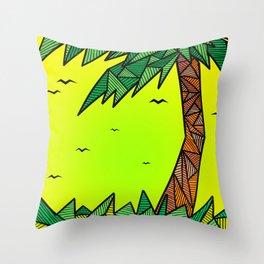 die Palme Throw Pillow