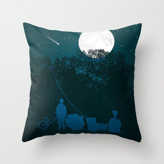 STEVEN SPIELBERG'S E.T. Throw Pillow