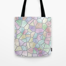 Mosaic LORA,candy Tote Bag
