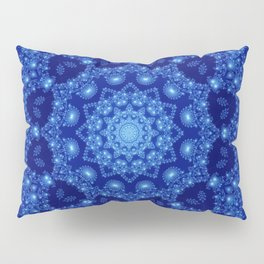 Ocean of Light Mandala Pillow Sham