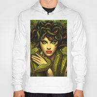 medusa Hoodies featuring Medusa by George Patsouras