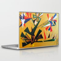 oakland Laptop & iPad Skins featuring Oakland Wall Flower by Oakland.Style