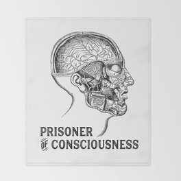 Prisoner of Conciousness Throw Blanket