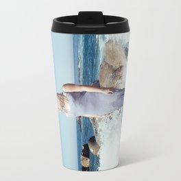 Ocean's Pulse Travel Mug