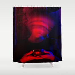 CYBERPUNK REALITY II Shower Curtain