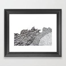 gardens Framed Art Print