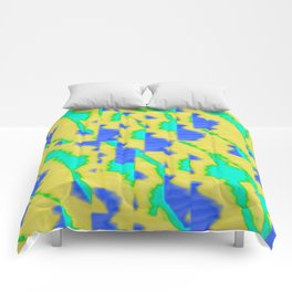 pattern funk colortheme 3 Comforters