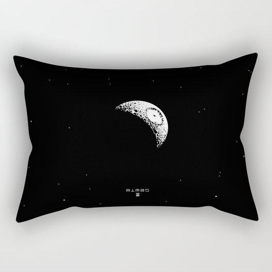 MIMAS - The Real Death Star Rectangular Pillow