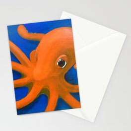 Content as an Octopus Stationery Cards