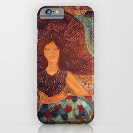 The Peaceful Mermaid  iPhone Case