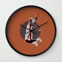 Slamdunk Wall Clock