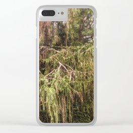 Woolly Spruce Clear iPhone Case