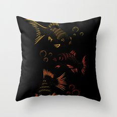 Something Fishy Throw Pillow