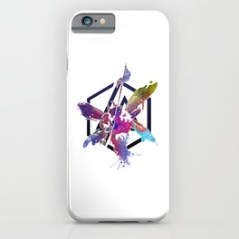 The Theory - LP Art iPhone Case