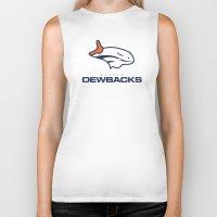 nfl Biker Tanks featuring Denver Dewbacks - NFL by Steven Klock
