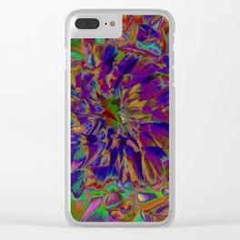 "Extreme Dahlia ""April Dawn"" Clear iPhone Case"