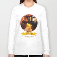 league of legends Long Sleeve T-shirts featuring League Of Legends - Evelynn by TheDrawingDuo