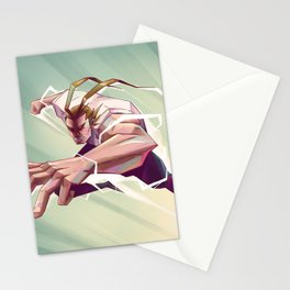 All Might Stationery Cards