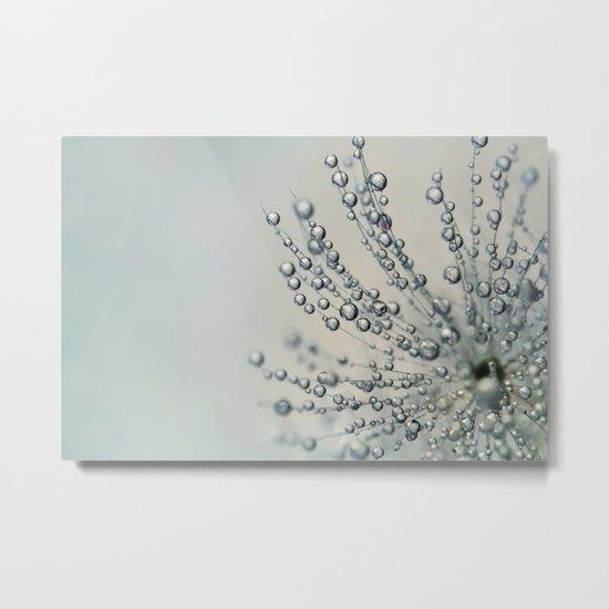 Fairy Dust Droplets Metal Print