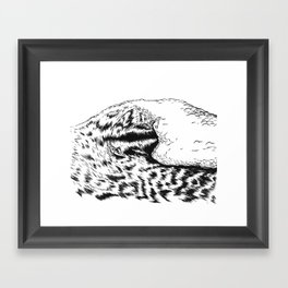 SURFRIDER Framed Art Print