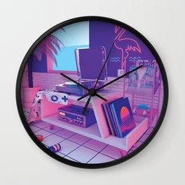 spinningwave Wall Clock