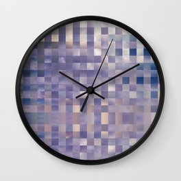Checkerboard Sky Wall Clock