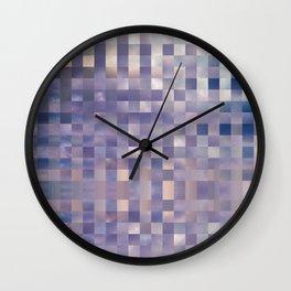 Checkerboard Sky Wall Clock