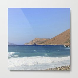 Crete, Greece 7 Metal Print