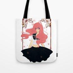 Kawaii Neko Anime Girl Tote Bag