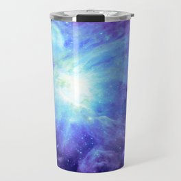 NEBula Purple Periwinkle Blue Travel Mug