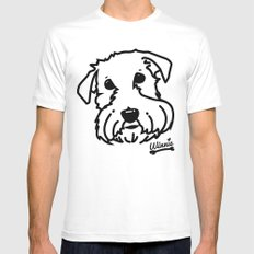 winnie Mens Fitted Tee MEDIUM White