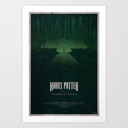 The Chamber of Secrets Art Print