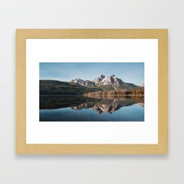 Stanley Lake, Idaho Framed Art Print