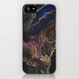 dreamy trees iPhone Case