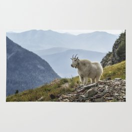 The Ups and Downs of Being A Mountain Goat No. 2a Rug