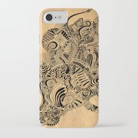 labyrinth iPhone & iPod Cases featuring Labyrinth by DuckyB