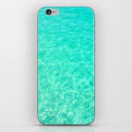 Turquoise Blue Ocean iPhone Skin