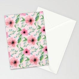 Vintage garden floral pattern Stationery Cards