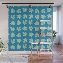 Fig Tree Leaves Pattern Wall Mural