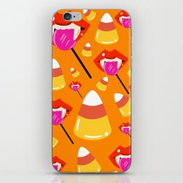 Blood Pops and Candy Corn iPhone Skin