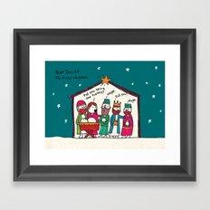 first christmas Framed Art Print