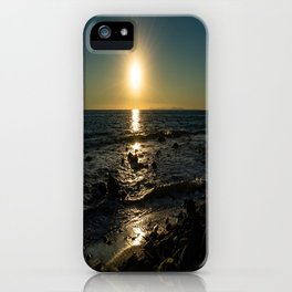 Peaceful Ending iPhone Case