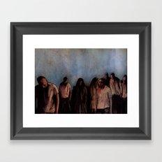 ZOMBIES V Framed Art Print