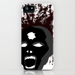 Zombie Headshot iPhone Case
