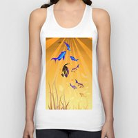 under the sea Tank Tops featuring Under The Sea V2 by Robin Curtiss