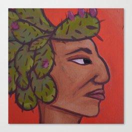 Native Face 5 Canvas Print