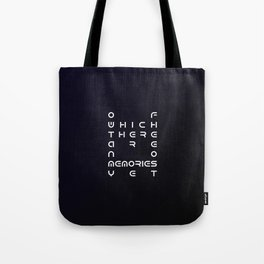 Of Which There Are No Memories Yet No.2 Tote Bag