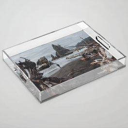 Olympic Coastline Acrylic Tray